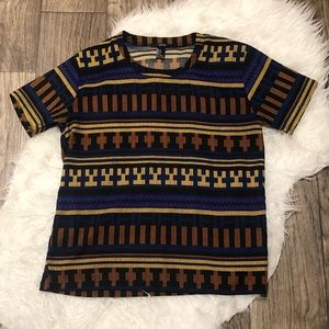 Forever 21 Aztec Printed Tee